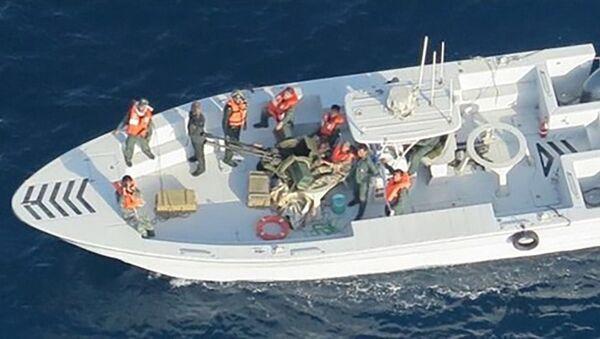 Iran bắt giữ tàu chở dầu chứa nhiên liệu lậu ở Vịnh Ba Tư - Sputnik Việt Nam