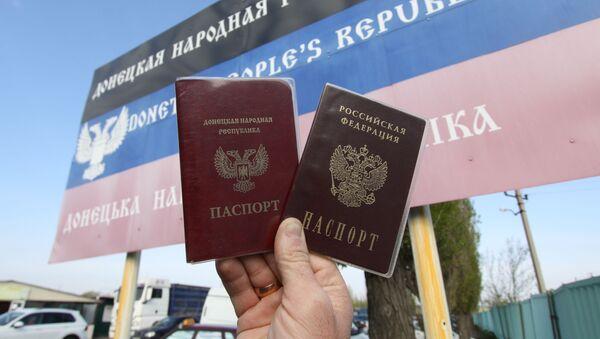 Nga cấp hộ chiếu cho cư dân Donbass - Sputnik Việt Nam