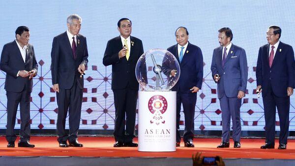 Thủ tướng Nguyễn Xuân Phúc dự khai mạc Hội nghị cấp cao ASEAN lần thứ 34 - Sputnik Việt Nam