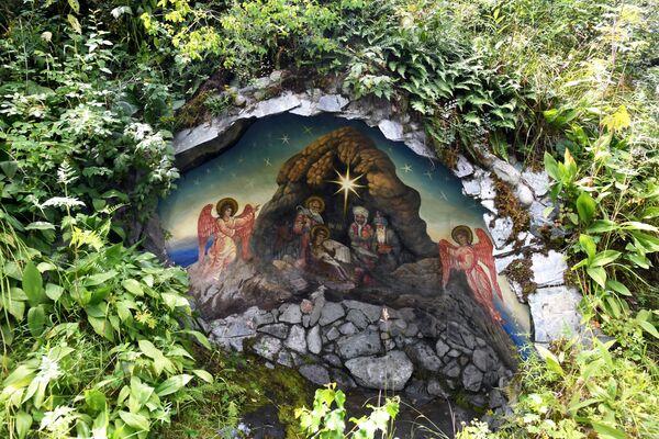 Nhà thờ Thánh Gioan trên đảo Patmos, huyện Chemalsky, Cộng hòa Altai - Sputnik Việt Nam