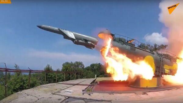 Công bố video về việc tiêu diệt tên lửa hành trình ở Biển Đen - Sputnik Việt Nam