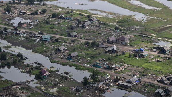 Hậu quả lũ lụt ở vùng Irkutsk - Sputnik Việt Nam