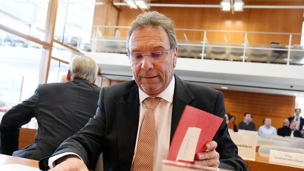 Сhủ tịch Ủy ban Kinh tế và Năng lượng của Quốc hội Đức Klaus Ernst. - Sputnik Việt Nam