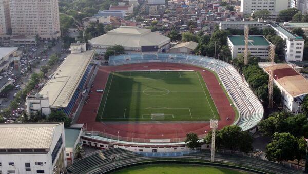 SVĐ Rizal Memorial - một trong 3 sân tổ chức bóng đá nam SEA Games 30. - Sputnik Việt Nam