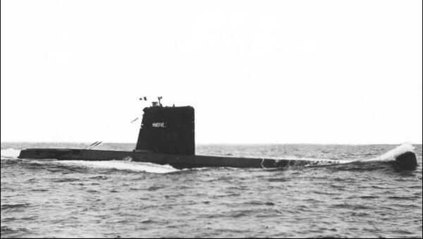 Tàu ngầm Minerve  - Sputnik Việt Nam