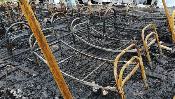 Đám cháy kinh hoàng trong trại hè thiếu nhi Nga - Sputnik Việt Nam