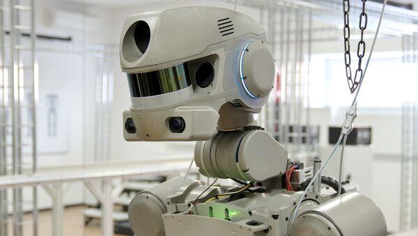 Robot Fedor - Sputnik Việt Nam