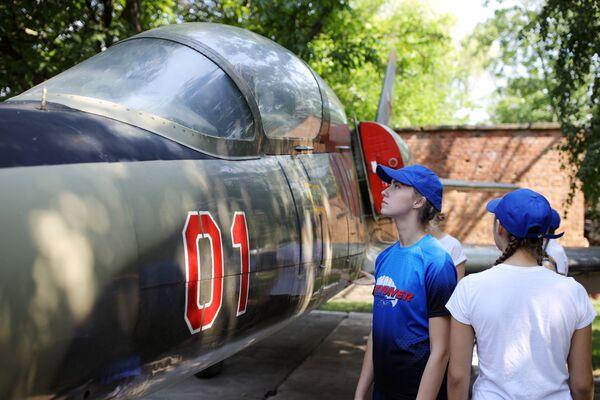 Trong quá trình lựa chọn ứng viên để đào tạo tại Trường không quân cao cấp Krasnodar mang tên A.K.Serov - Sputnik Việt Nam