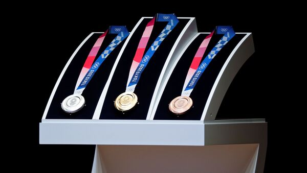 Huy chương Olympic 2020  - Sputnik Việt Nam