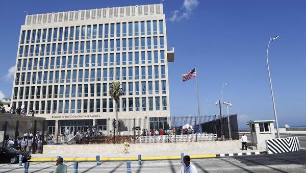 Tòa nhà Đại sứ quán Hoa Kỳ tại Havana, Cuba - Sputnik Việt Nam