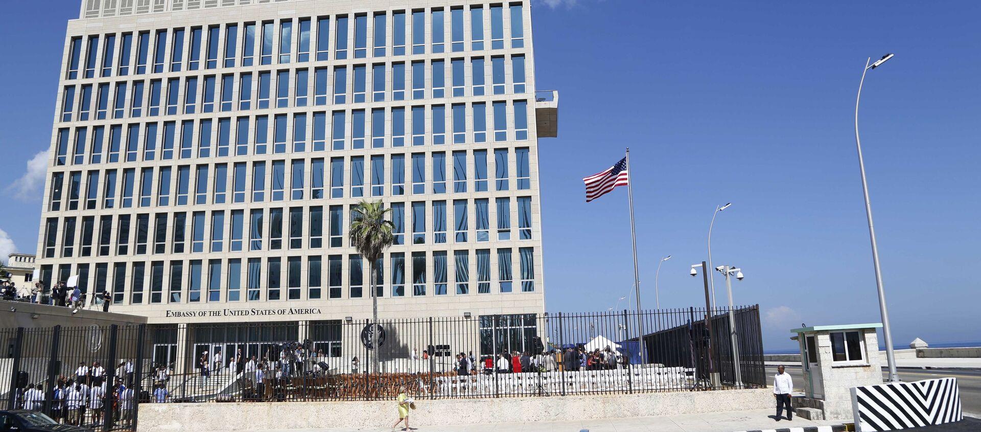 Tòa nhà Đại sứ quán Hoa Kỳ tại Havana, Cuba - Sputnik Việt Nam, 1920, 25.07.2019