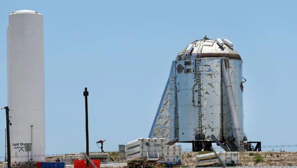- Tàu vũ trụ thử nghiệm Starhopper  - Sputnik Việt Nam