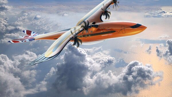 Mẫu mới của Airbus Bird of Prey - Sputnik Việt Nam