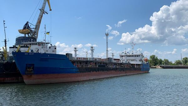 Tàu chở dầu Nika Spirit của Nga - Sputnik Việt Nam
