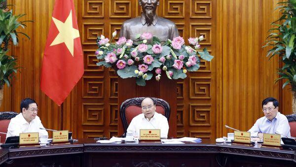 Thủ tướng Nguyễn Xuân Phúc chủ trì Phiên họp Chính phủ - Sputnik Việt Nam