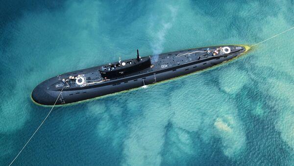 Tàu ngầm Nga B-271 Kolpino. - Sputnik Việt Nam