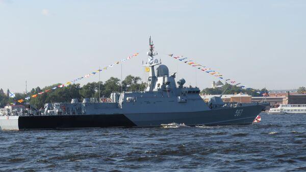 Tàu tên lửa cỡ nhỏ «Mytishi» (đề án «Karakurt»)  - Sputnik Việt Nam