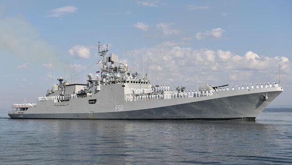 Tàu khu trục của hạm đội phía Tây thuộc Hải quân Ấn Độ Tarkash - Sputnik Việt Nam