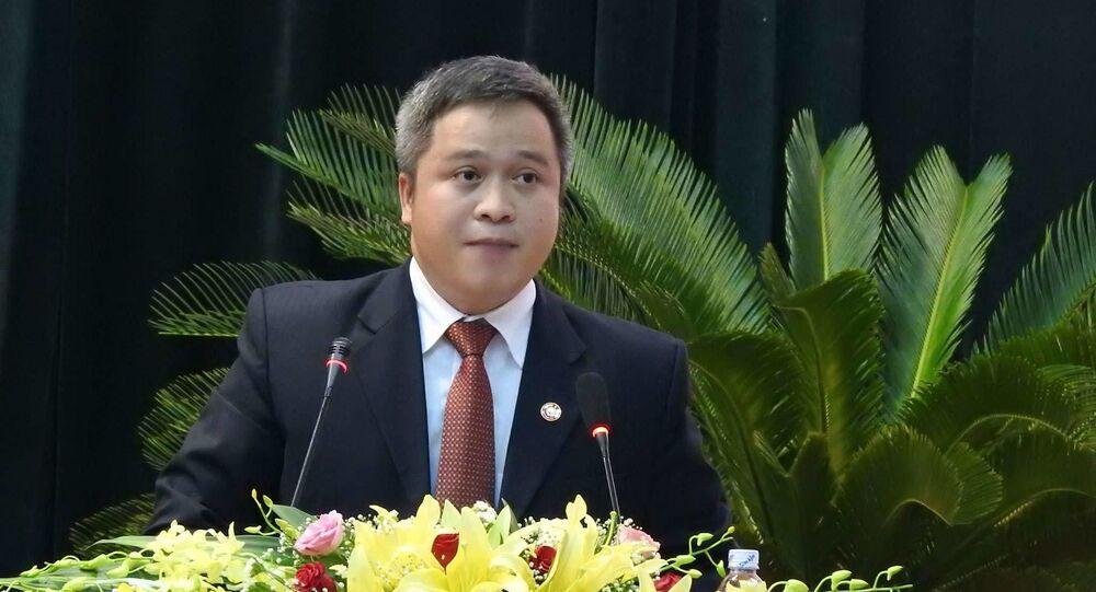 Ông Trần Tiến Hưng vừa được bầu giữ chức Chủ tịch UBND tỉnh Hà Tĩnh
