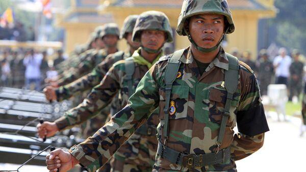 quân đội Campuchia  - Sputnik Việt Nam