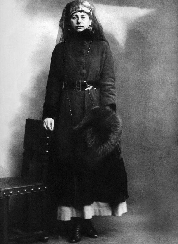 Mata Hari trong ngày bị bắt 13 tháng 2 năm 1917 - Sputnik Việt Nam