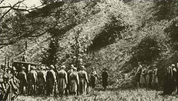 Vụ xử tử Mata Hari. Trích từ bộ phim năm 1920 - Sputnik Việt Nam