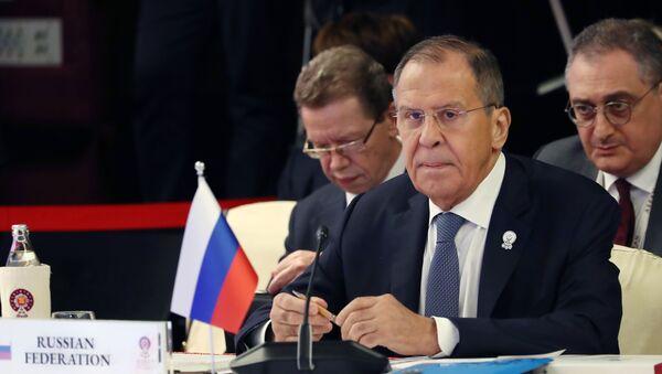 Chuyến thăm chính thức của Ngoại trưởng Nga S. Lavrov tới Thái Lan - Sputnik Việt Nam