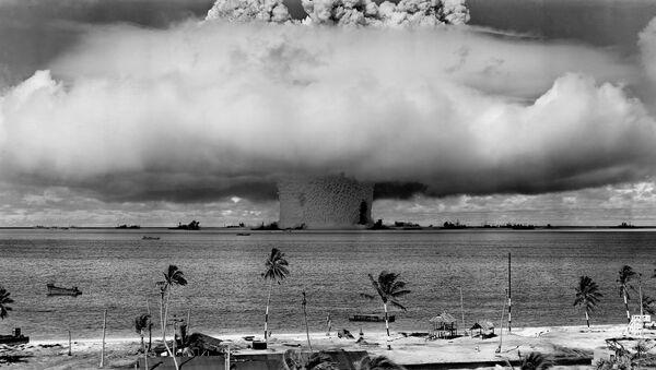 Vụ thử hạt nhân trên đảo san hô Bikini, Quần đảo Marshall - Sputnik Việt Nam