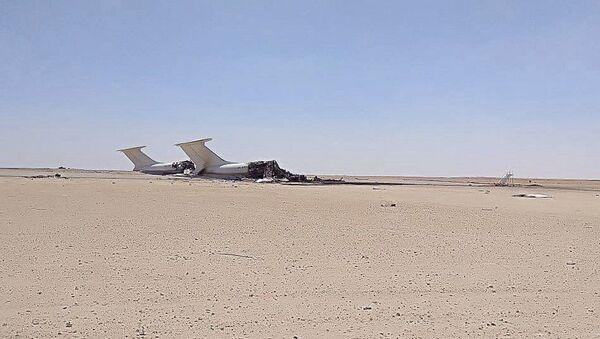 Máy bay Ukraina rơi vào lửa đạn ở Libya - Sputnik Việt Nam