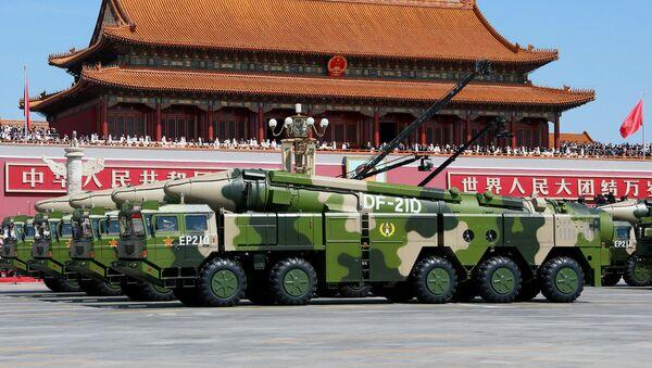Hệ thống tên lửa đạn đạo chống hạm Dongfeng 21A (DF-21A) của Quân đội Giải phóng Nhân dân Trung Quốc - Sputnik Việt Nam