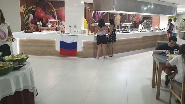Khách sạn Tây Ban Nha kể chi tiết vụ bê bối với quốc kỳ Nga - Sputnik Việt Nam