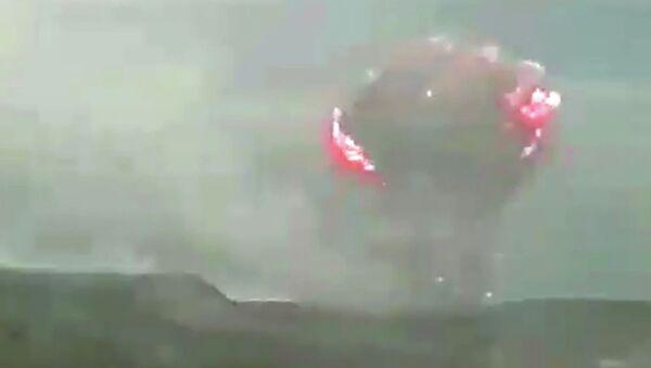 Vụ nổ xảy ra trong doanh trại quân đội ở vùng Krasnoyarsk - Sputnik Việt Nam