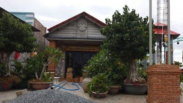 Cơ sở thờ tự gia đình, nơi xảy ra vụ việc cháu K. bị bạo hành dã man - Sputnik Việt Nam