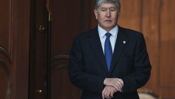 Tổng thống Kyrgyzstan Almazbek Atambayev. - Sputnik Việt Nam