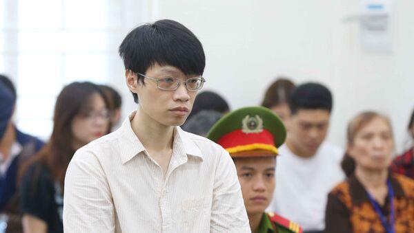 Bị cáo Nguyễn Anh Tú tại phiên tòa.  - Sputnik Việt Nam