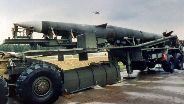 Tên lửa tầm trung Mỹ Pershing II - Sputnik Việt Nam
