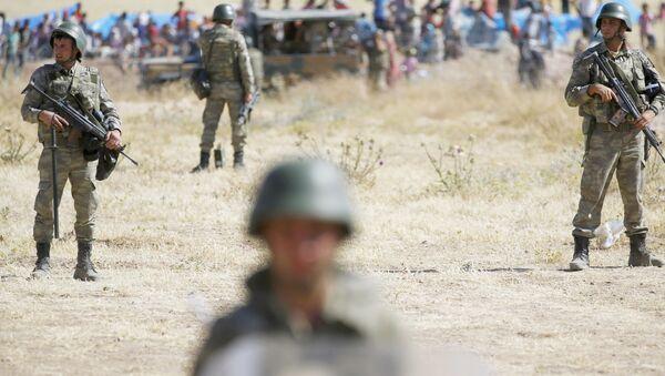 Lính quân đội Thổ Nhĩ Kỳ ở tỉnh Sanliurfa  - Sputnik Việt Nam