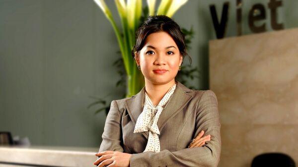 Bà Nguyễn Thanh Phượng, chủ tịch VCI. - Sputnik Việt Nam