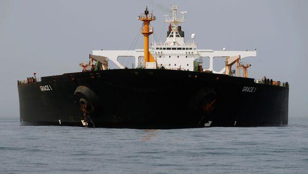 Tàu chở dầu Iran Grace 1 - Sputnik Việt Nam