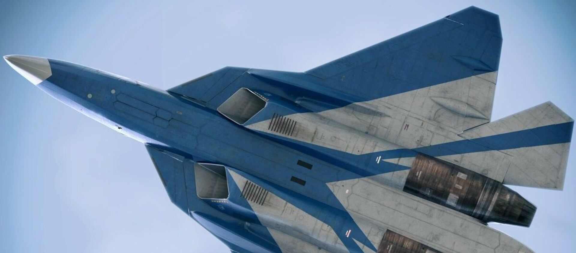Máy bay chiến đấu thế hệ thứ năm Su-57 - Sputnik Việt Nam, 1920, 21.04.2021