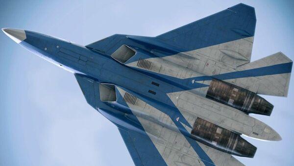 Máy bay chiến đấu thế hệ thứ năm Su-57 - Sputnik Việt Nam