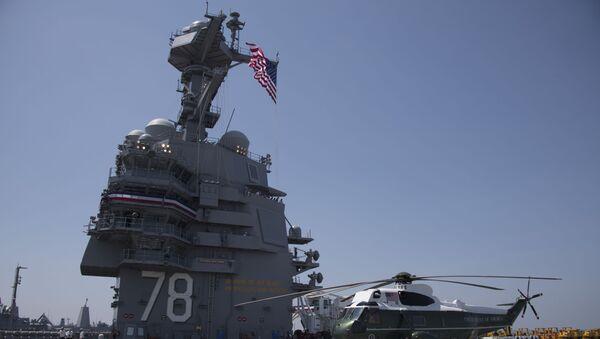 Tàu sân bay Mỹ USS Gerald R. Ford - Sputnik Việt Nam