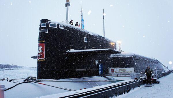 Tàu ngầm hạt nhân 667BDR  - Sputnik Việt Nam