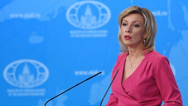Bà Maria Zakharova đại diện chính thức của Bộ Ngoại giao Nga  - Sputnik Việt Nam