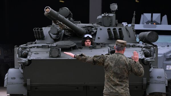 Xe bọc thép BMP-3 - Sputnik Việt Nam