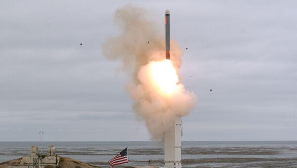 Mỹ thử nghiệm tên lửa hành trình bị cấm bởi Hiệp ước INF - Sputnik Việt Nam