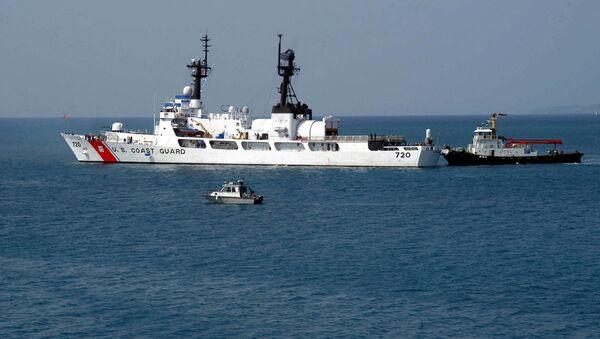 Tàu USCGC Sherman (WHEC-720) tham gia tập quân sự SEACAT - Sputnik Việt Nam