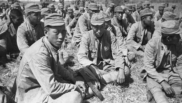 Lính Nhật bị bắt làm tù binh gần sông Khalkhin Gol. Năm 1939 - Sputnik Việt Nam