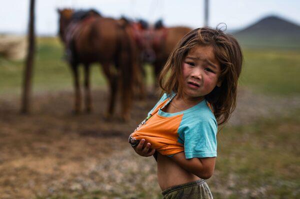 Cô gái ở Tsongzhin Boldog, Mông Cổ - Sputnik Việt Nam