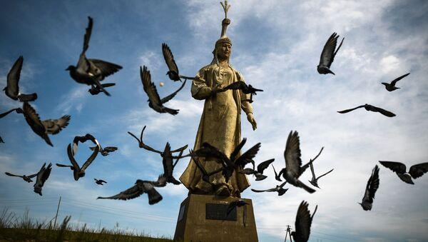 Khu tưởng niệm Oelun-eke (Mẹ Thành Cát Tư Hãn) - Sputnik Việt Nam